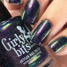 Girly Bits Cosmetics Sparrow of the Dawn (inspired by Greta Van Fleet) from the Concert Series Collection | Swatch courtesy of Nail Experiments