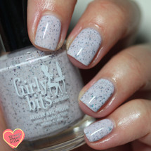 GIRLY BITS COSMETICS Not Plain White {Polish Con NY Limited Edition} | Swatch courtesy of Streets Ahead Style