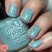 GIRLY BITS COSMETICS She's a Lady Polish Con Limited Edition} | Photo credit: Streets Ahead Style