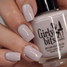 GIRLY BITS COSMETICS Strapless (Bridal Bliss  Collection) by Girly Bits Cosmetics - Photo by Manicure Manifesto