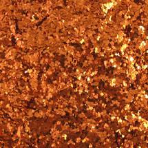 Apricot .035 Sq Glitter