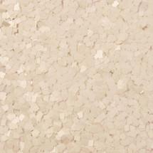Matte White .062 Sq Glitter