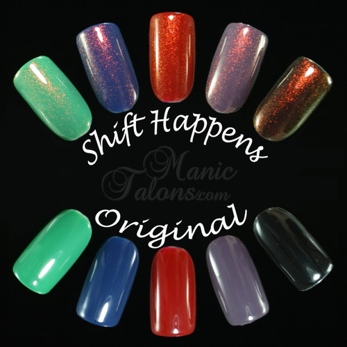GIRLY BITS COSMETICS Shift Happens | Swatches courtesy of Manic Talons
