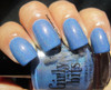 Swatch courtesy of Captivating Claws | GIRLY BITS COSMETICS Bachelor's Button