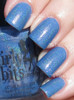 Swatch courtesy of The PolishAholic | GIRLY BITS COSMETICS Bachelor's Button