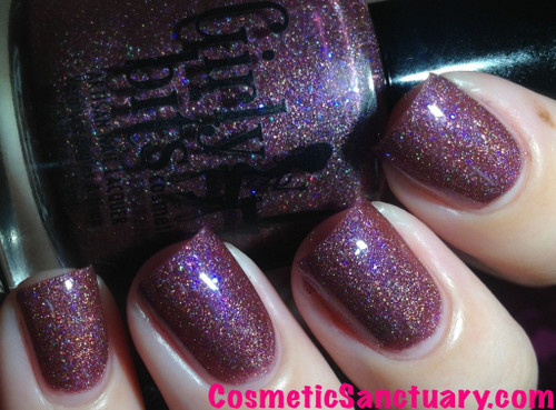 Swatch courtesy of Cosmetic Sanctuary | GIRLY BITS COSMETICS What Happens In Vegas...Ends Up On Facebook