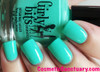 Swatch courtesy of Cosmetic Sanctuary | GIRLY BITS COSMETICS Mint To Be
