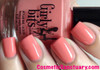 Swatch courtesy of Cosmetic Sanctuary | GIRLY BITS COSMETICS Lover's Coral
