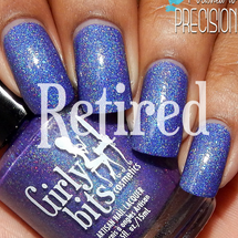 Swatch courtesy of Polished to Precision | GIRLY BITS COSMETICS Man Size Love
