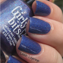 Swatch courtesy of Lavish Layerings | GIRLY BITS COSMETICS Man Size Love