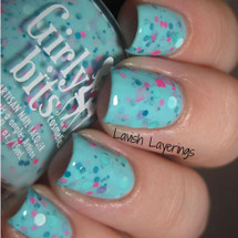 Swatch courtesy of Lavish Layerings | GIRLY BITS COSMETICS Conga