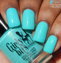 Swatch courtesy of Polished to Precision | GIRLY BITS COSMETICS Mint-al Precision