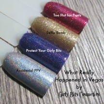 GIRLY BITS COSMETICS What Really Happened In Vegas Collection