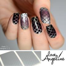 Fishnet Nail Shields