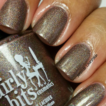 Swatch courtesy of Amanda Loves Polish | GIRLY BITS COSMETICS Is That A Shillelagh In Your Pocket?