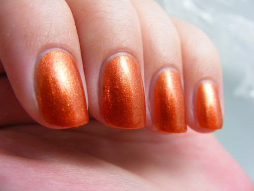 Swatch courtesy of Art Evolve | GIRLY BITS COSMETICS Gentle Ginger