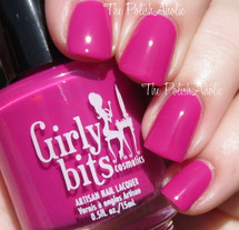 Swatch courtesy of The PolishAholic | GIRLY BITS COSMETICS Don't Paddle Break A Nail