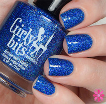 Swatch courtesy of Cosmetic Sanctuary | GIRLY BITS COSMETICS Blue Ribbon Cankles