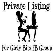 Girly Bits FB group listing