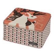 JOHN HANNA | square storage tin | home ware