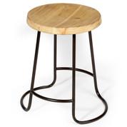 iron & timber stool   home decor & furniture