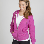 RIPLEY | heather ladies hoodie jacket