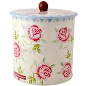 ROSE & BEE | biscuit barrel storage tin
