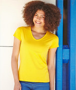 GRENADA | t-shirts women | eco stretch v-neck