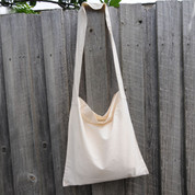 KASHMIR | plain calico shoulder bags