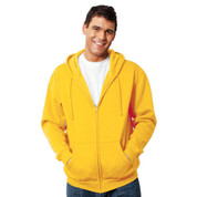 FELTON Men Zipped Hoodie Gold