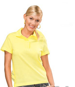 INDIANA Women Heavyweight Polo Shirt Yellow