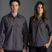 COOLUM | womens business shirts 3/4 sleeves
