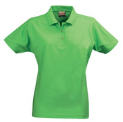 HARVEST Women polo shirts cotton pique Lime