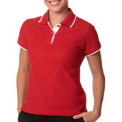 LIBERTY Women polo shirts contrast pique