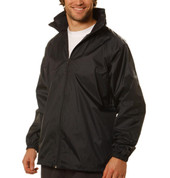PACKER Adult foldaway rain jackets with hood