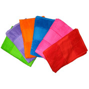 WAVERLEY plain cotton velour beach towels