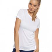 wholesale | womens bamboo jersey t-shirts | white