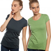 Australian Made Ladies Organic Tshirt | slim fit organic