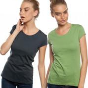 Australian Made Ladies Organic Tshirt | slim fit organic