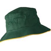 contrast soft bucket hat | adults | bottle/gold