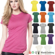 EARTH | womens slim fit organic tshirt | 100% cotton