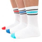STRIDE | mens crew sports socks | 3 pack