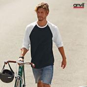 Anvil baseball raglan tshirt | buy bulk wholesale