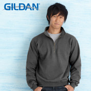 Gildan 1/4 zip cadet sweater