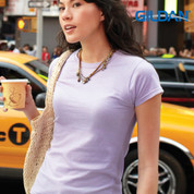 Gildan soft cotton plain tshirt | ladies/junior