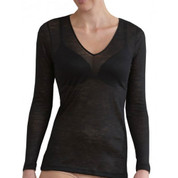 women lightweight top merino wool