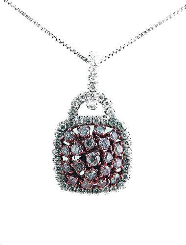 argyle pink diamond pendant