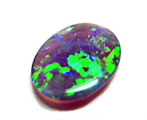 green blue australian black opals