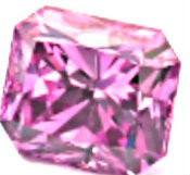 Natural Fancy Intense Orangy Pink Diamond - SOLD!!