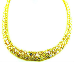 Natural Fancy Yellow Diamond Necklace